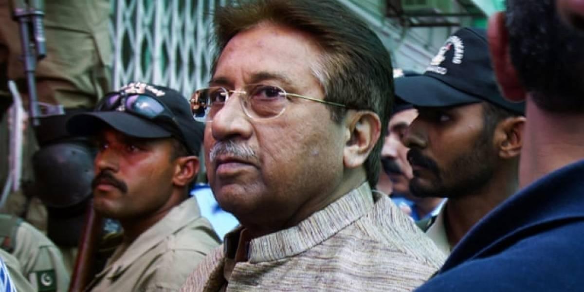 Anulan pena de muerte contra ex presidente de Pakistán Pervez Musharraf