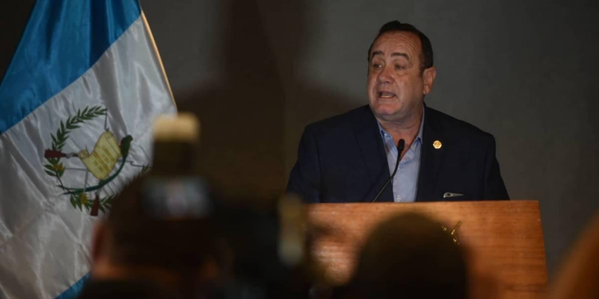 Giammattei: Morales se viola precepto constitucional al declarar inhábil el 14 de enero