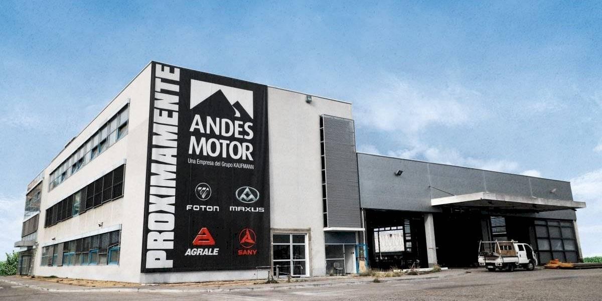 Fuerte inversión de Andes Motor para sus nuevas oficinas