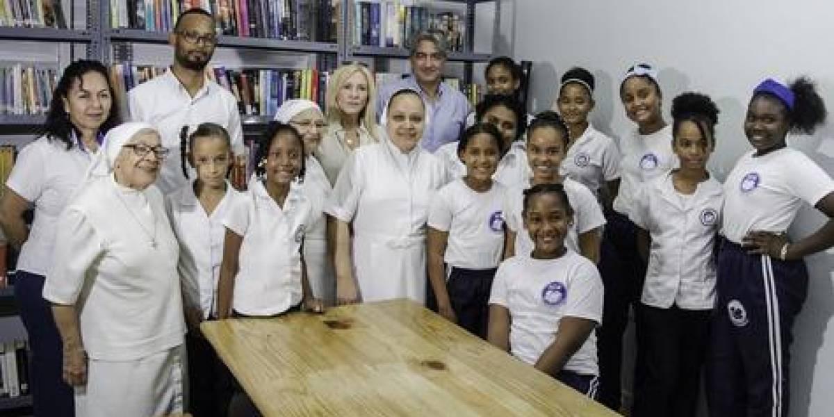 #TeVimosEn: Fundación MIR inaugura nuevo espacio bibliotecario