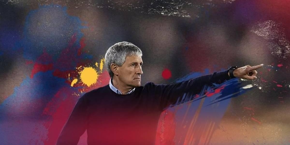 ¿Quién es Quique Setién, el nuevo entrenador del Barcelona?