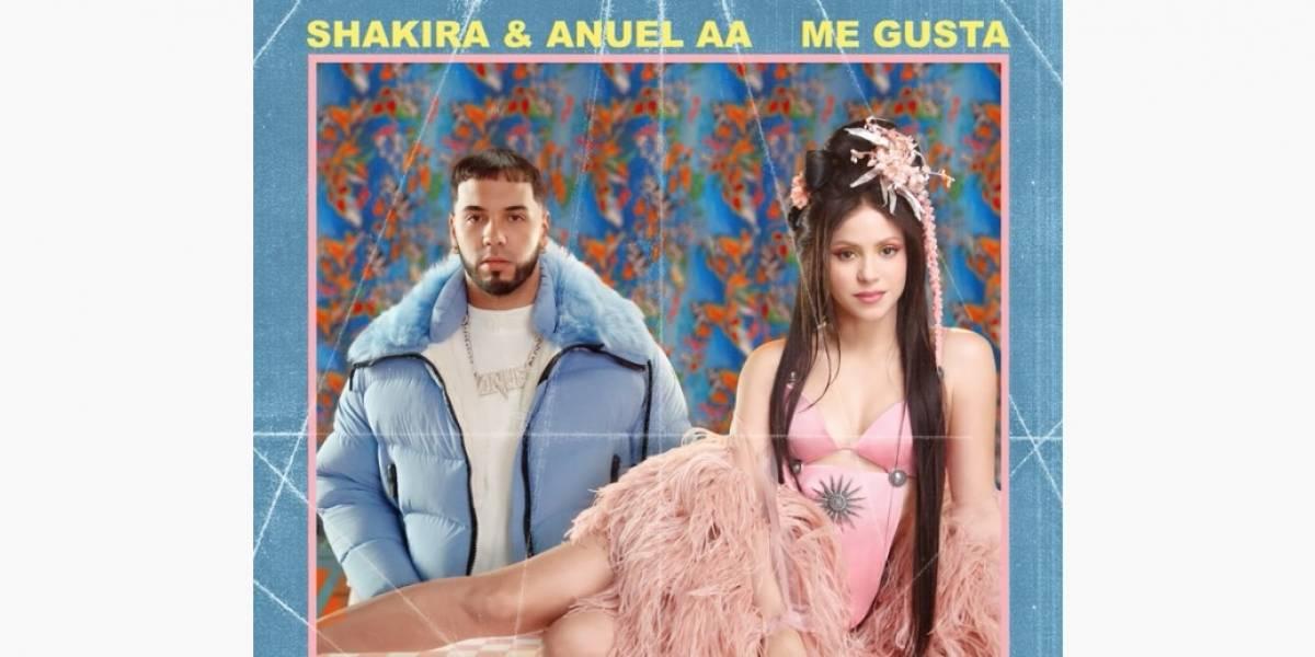 "Shakira lanza tema ""Me gusta"" junto a Anuel AA"
