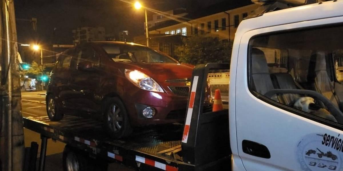 Quito: 26 personas fueron detenidas por conducir en estado de embriaguez