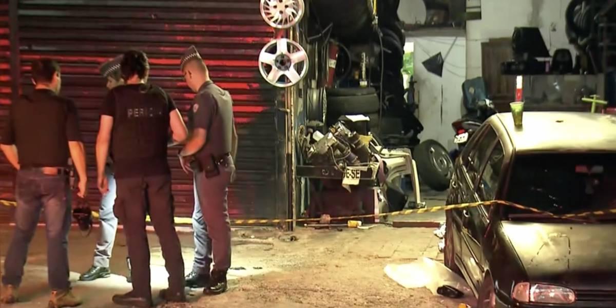Motorista foragido que atropelou criança em borracharia está em liberdade provisória