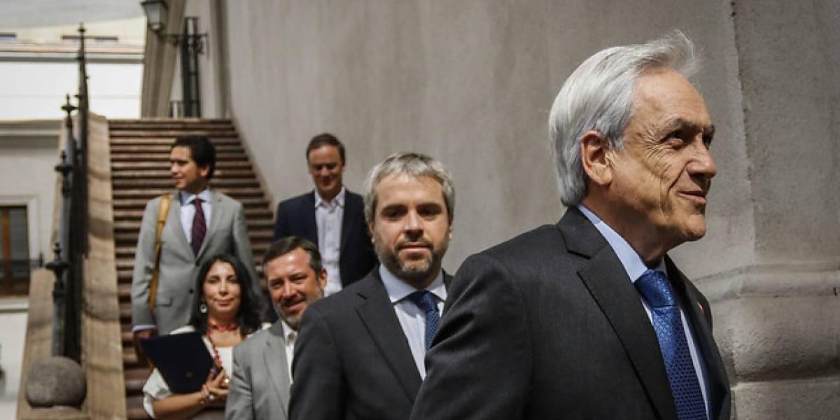 Presidente Piñera llama a la unidad de Chile Vamos en primer comité político del año