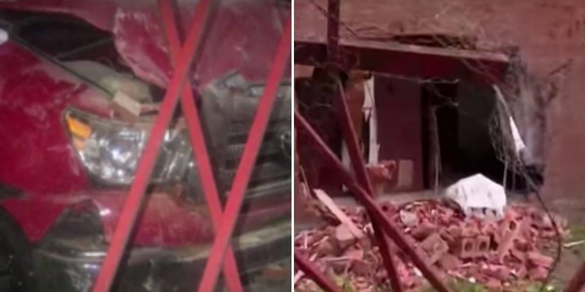 Funcionario de la embajada de Estados Unidos chocó contra vivienda en Bogotá