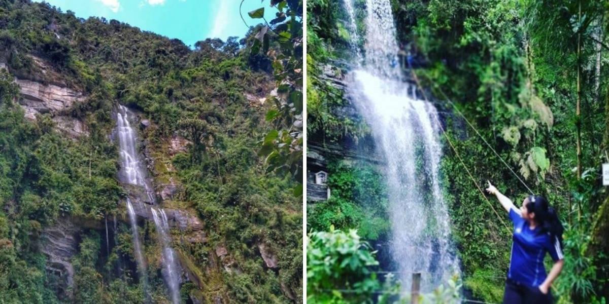 Conozca la cascada La Chorrera, un lugar en que le puede tener una ecoaventura