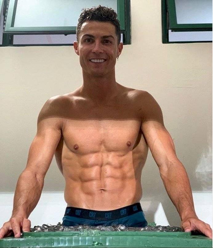 Cristiano Ronaldo reveló los seis platos que consume para mantenerse bien