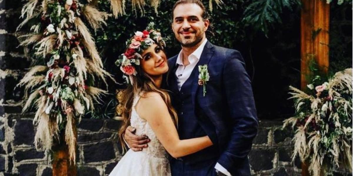 Dulce María compartió inéditas fotos de su boda