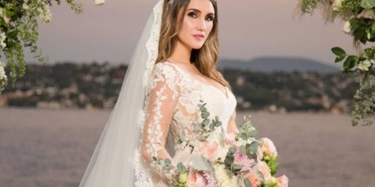 Dulce Maria divulga as fotos do seu casamento e faz revelação