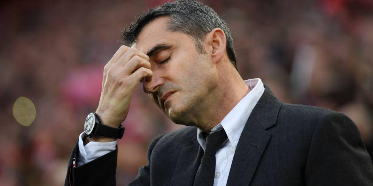 Barcelona echa a Valverde y suenan muchos para sucederle