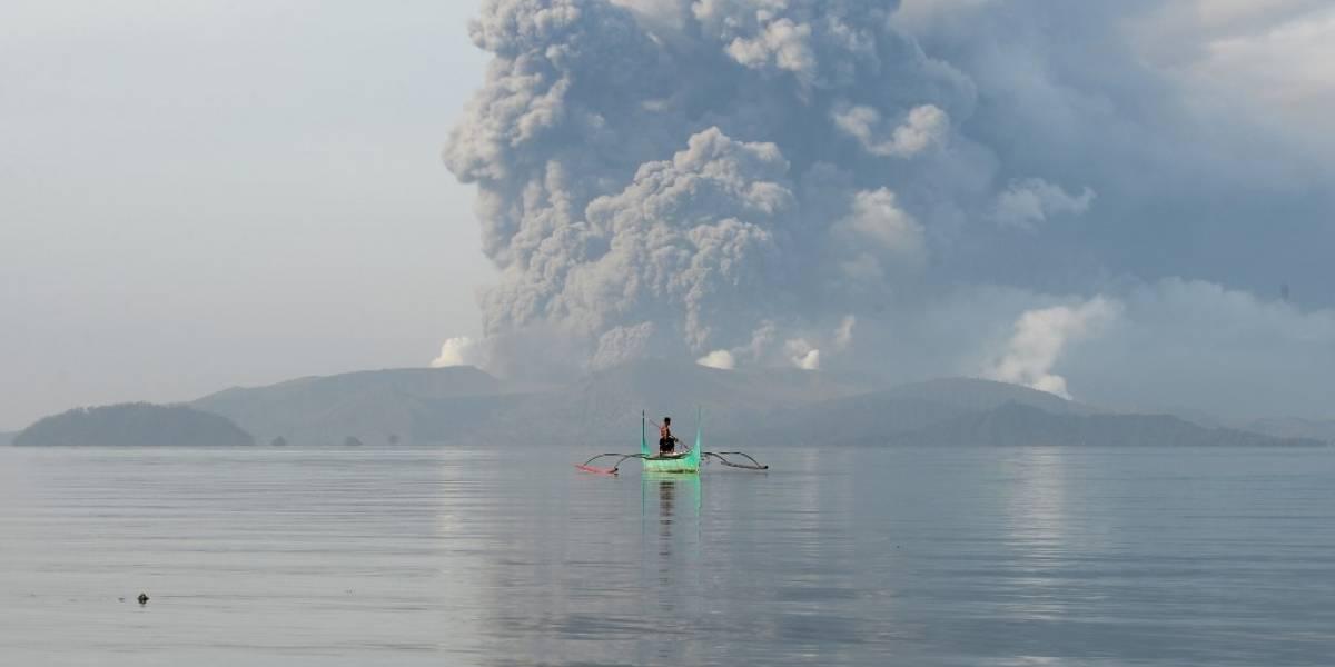 Filipinas, en estado de alerta por inminente erupción del volcán Taal