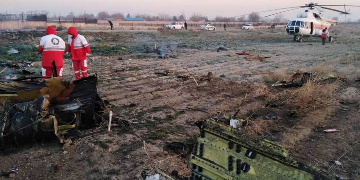 """Irán niega haber querido """"encubrir"""" caso de avión ucraniano derribado por error"""