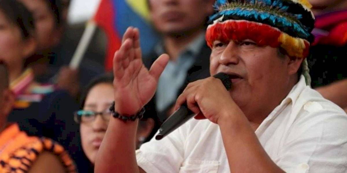 """Jaime Vargas: """"Rafael Correa no es ningún aliado, no somos amigos"""""""