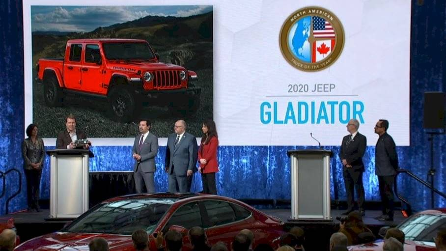 NACTOY, el North American Car, Utility and Truck of the Year