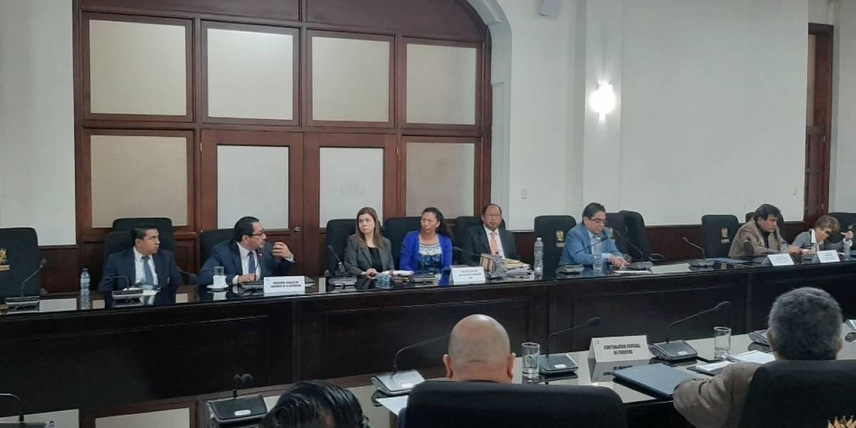 Comisión de DD. HH preparará ley para fondos a la PDH