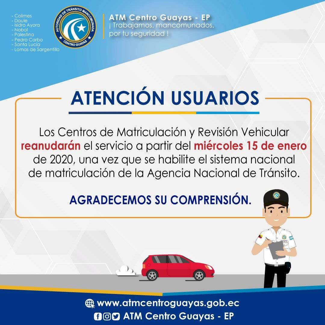 Matriculación vehicular 2020