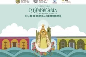 Todo listo para las fiestas de La Candelaria en Tlacotalpan