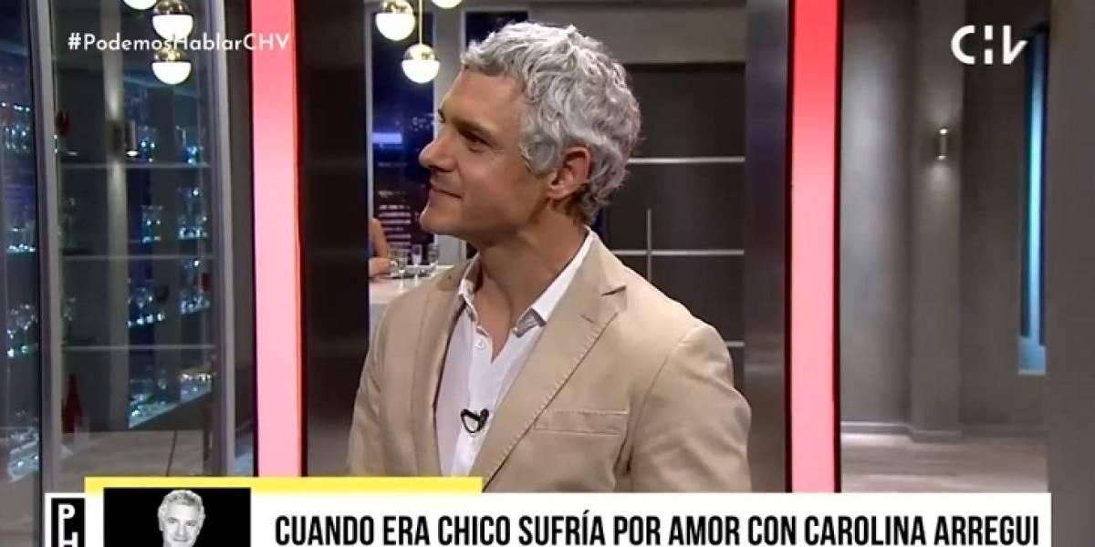 """La inesperada confesión de Ricardo Fernández: """"Sufría por amor con Carolina Arregui"""""""