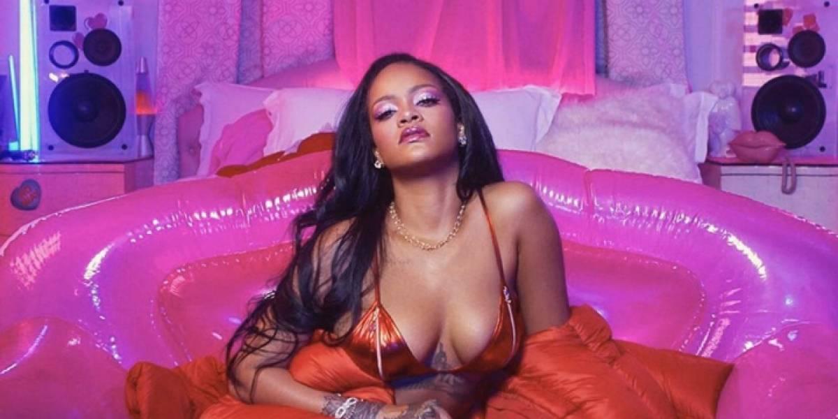 Rihanna posa como nunca la has visto con su línea de ropa interior para San Valentín