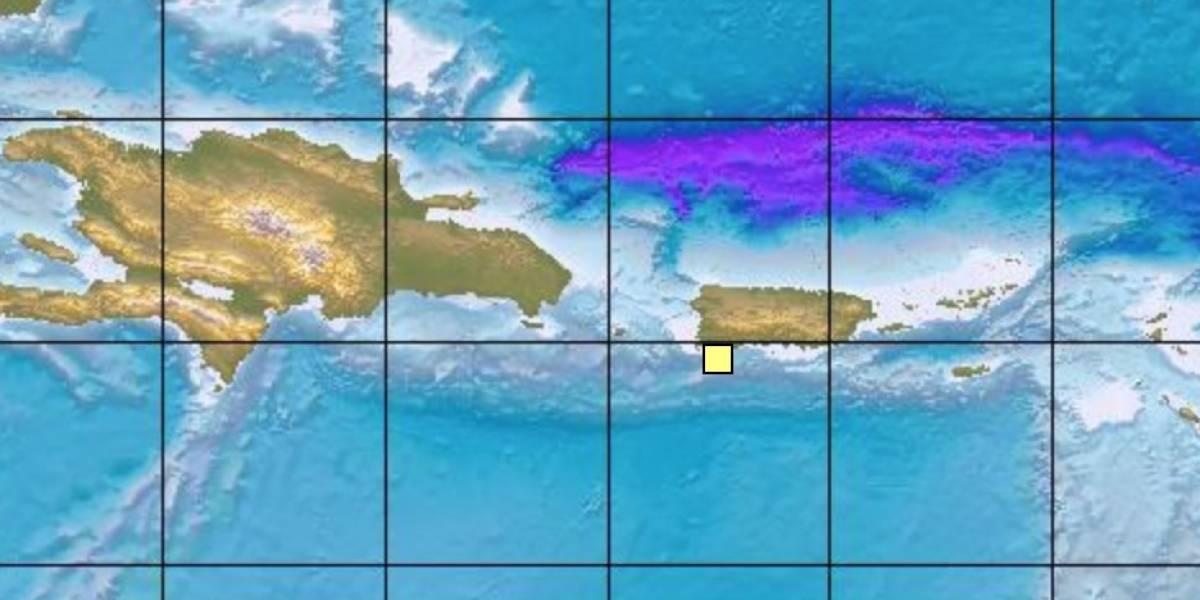 Se registra sismo de magnitud 4.05 en el suroeste de la Isla