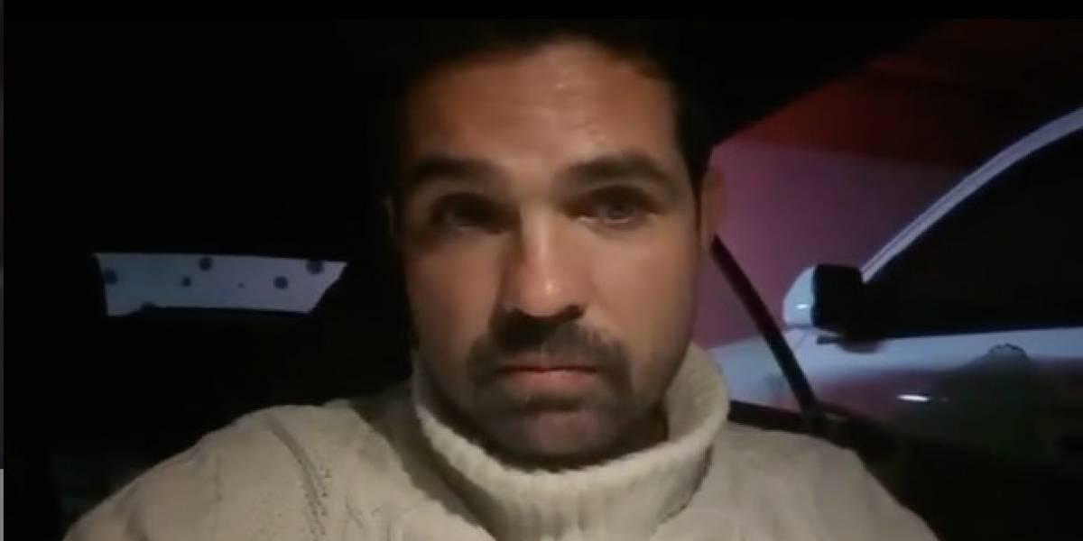 Video: Ferdinando Valencia es amenazado con una pistola durante asalto