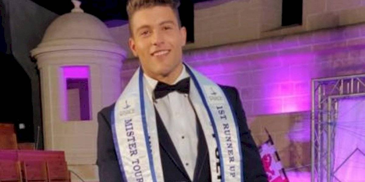 Modelo boricua se coloca como primer finalista en Mister Tourism World
