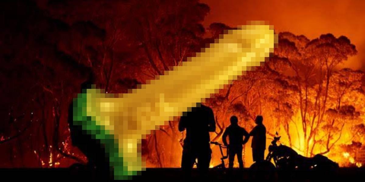 Australia: Puedes combatir los incendios al comprar un consolador especial