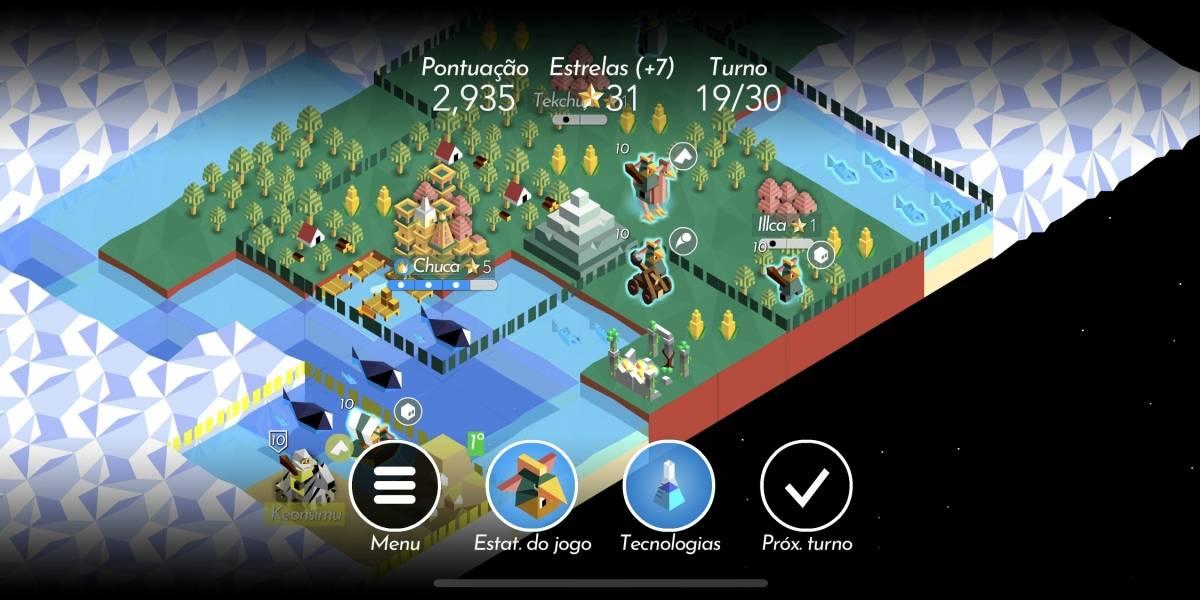 Jogo de estratégia The Battle of Polytopia chega ao Brasil