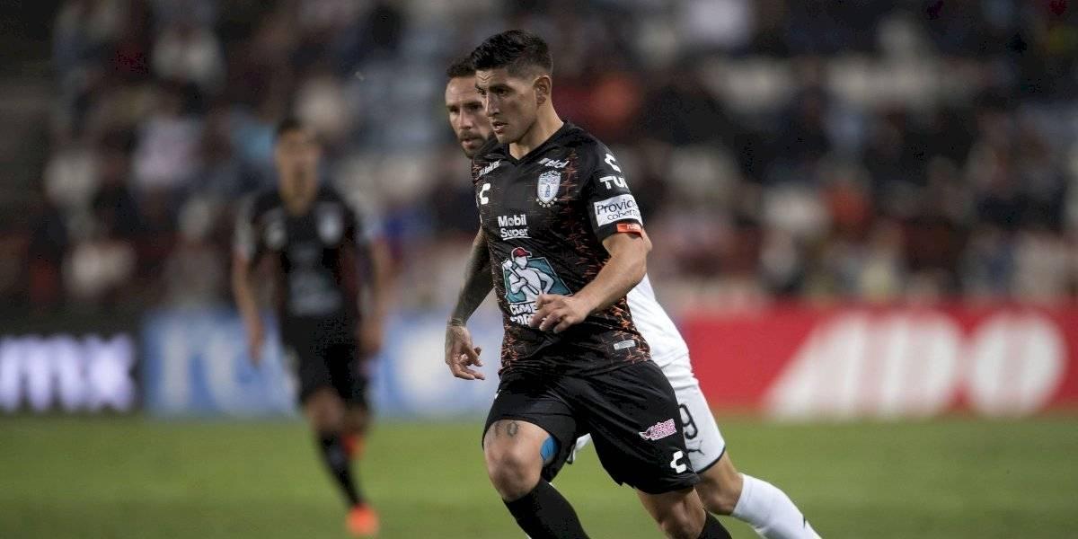 Pachuca expresa su apoyo a Víctor Guzmán
