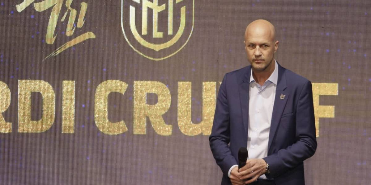 Jordi Cruyff es el nuevo entrenador de la Selección de Ecuador