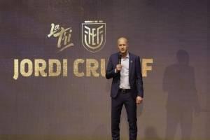 Jordy Cryuff es el nuevo entrenador de la Selección de Ecuador