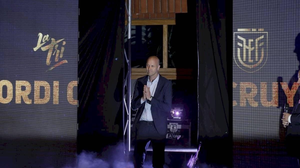 Jordy Cryuff es el nuevo entrenador de la Selección de Ecuador API
