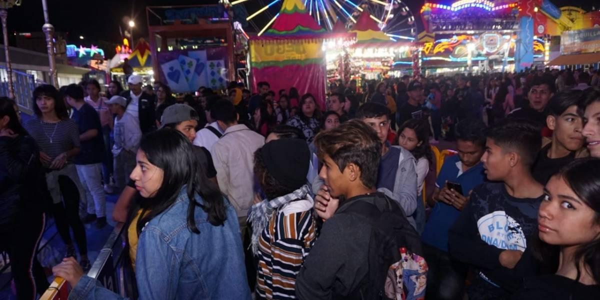 Feria asegura incremento de visitantes este lunes