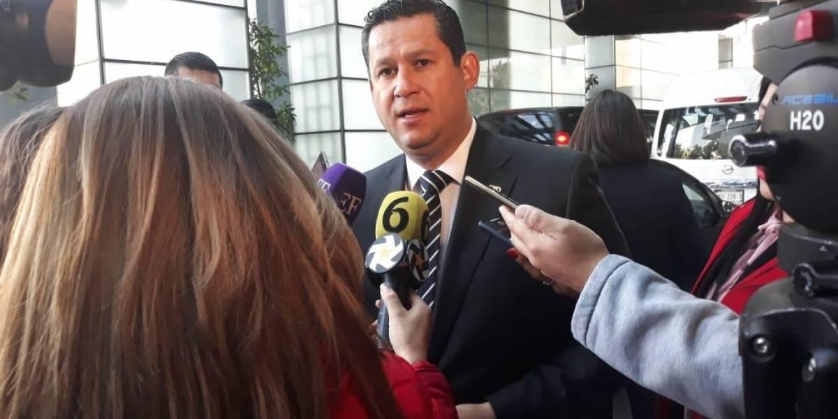 """Diego Sinhue dice """"no"""" al INSABI"""