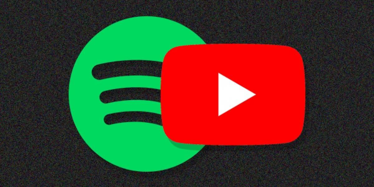 Con este truco puedes pasar tu playlist de YouTube a Spotify
