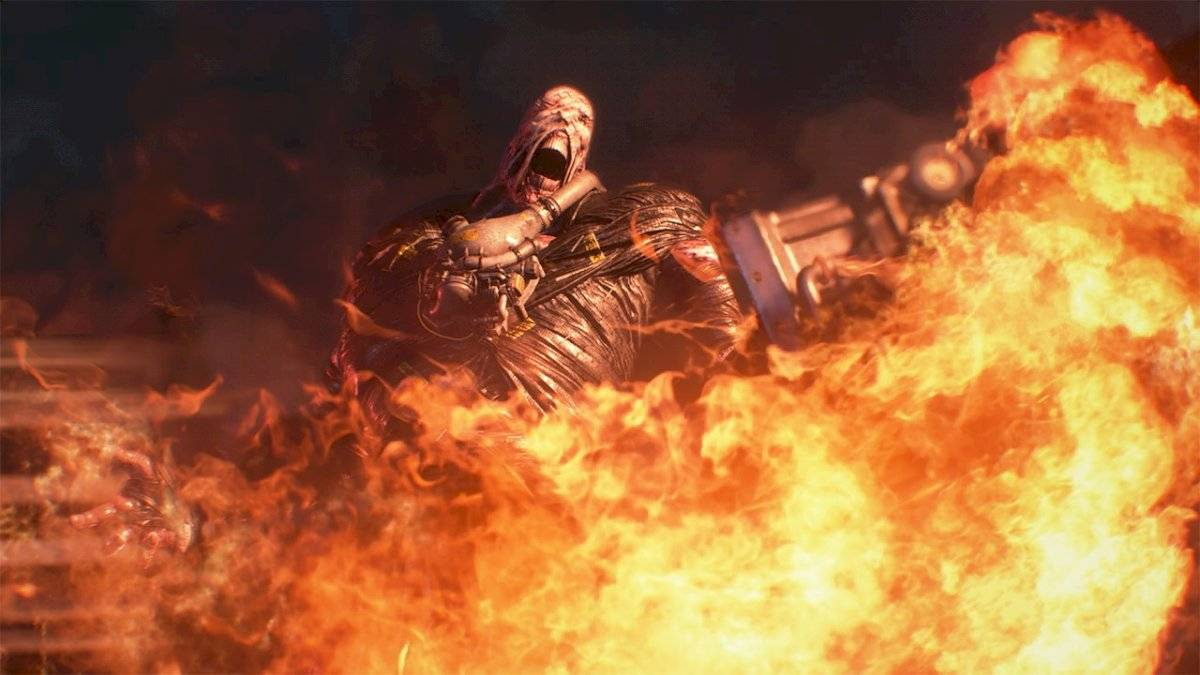 Némesis en Resident Evil 3