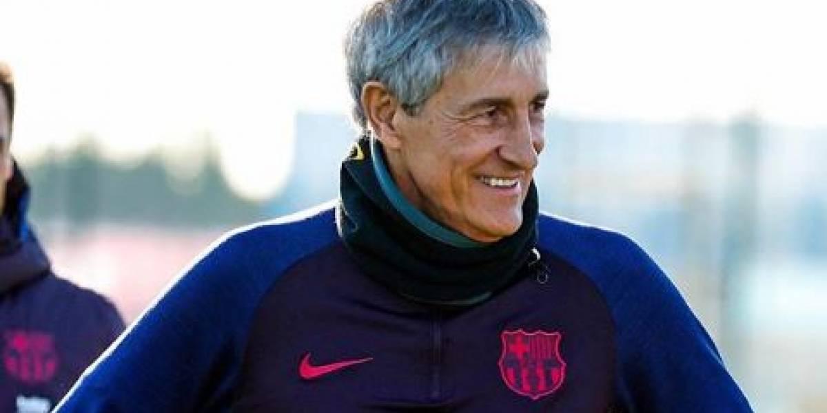 ¿Tres centrales? Nuevo entrenador del FC Barcelona, Quique Setién experimentaría con sus alineaciones