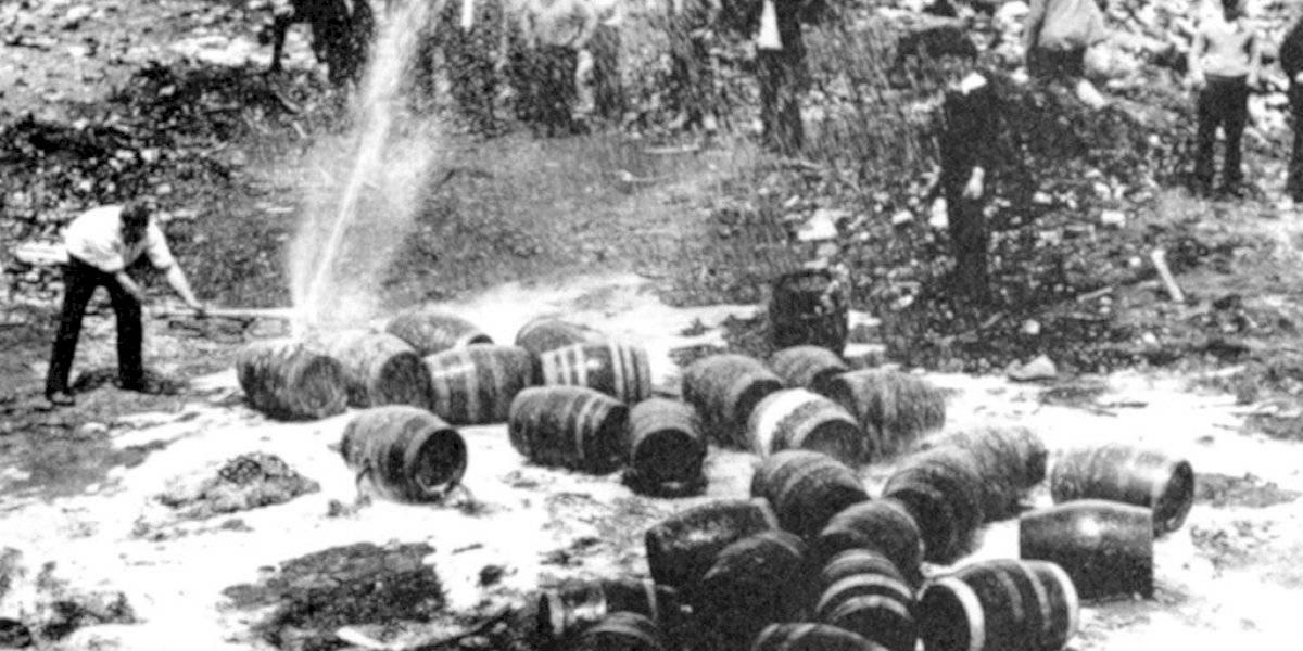 A 100 años de la ley seca abunda el alcohol en Estados Unidos