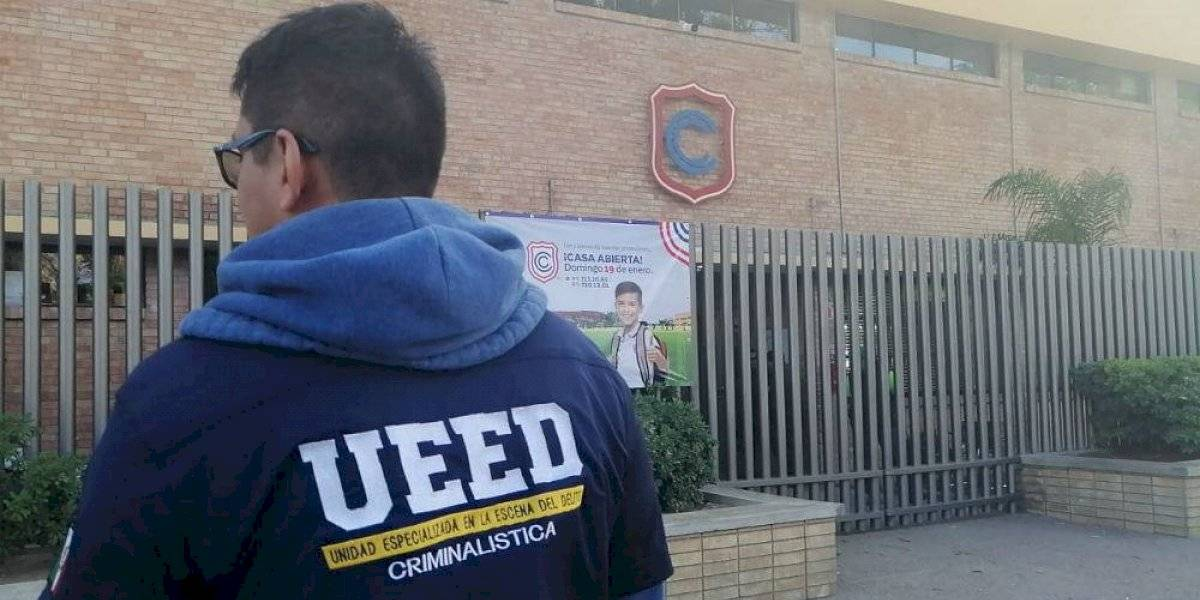 Detienen al abuelo del menor que disparó en Colegio Cervantes de Torreón
