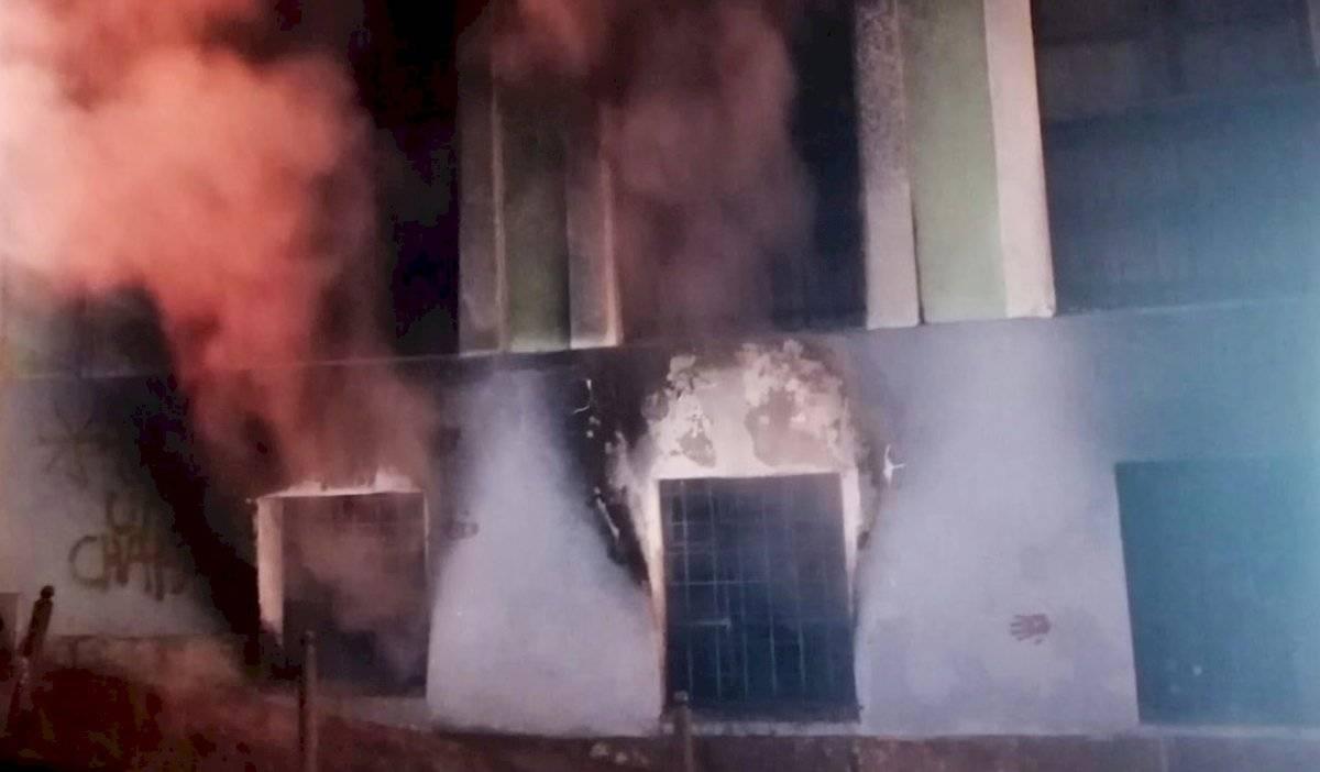 Incendio en casa abandonada del Centro Histórico de Quito