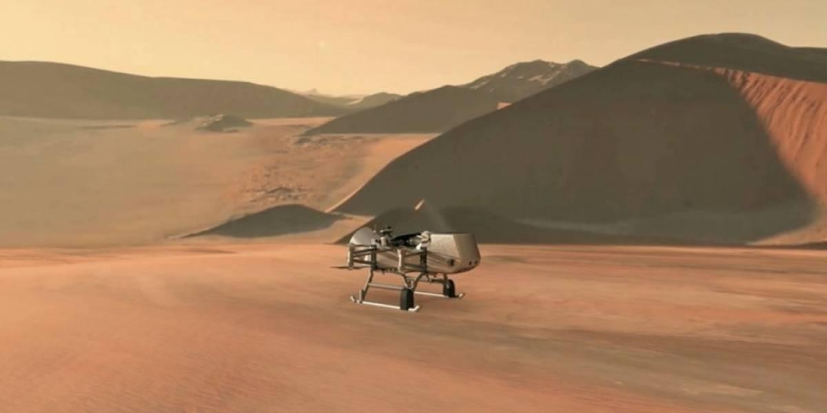 Dragonfly: El helicóptero que buscará vida en otros planetas