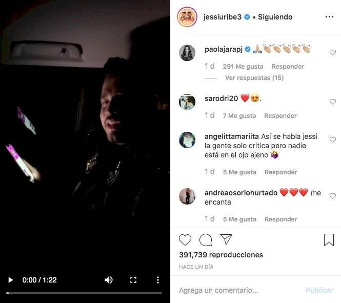 Post Jessi Uribe