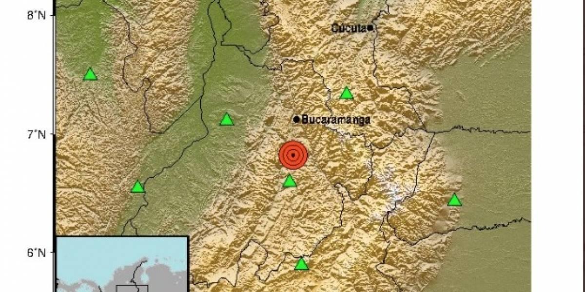 Fuerte temblor sacudió varias ciudades de Colombia este martes
