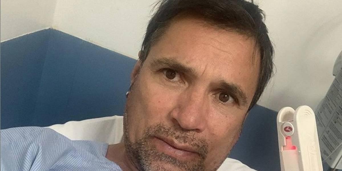 Ramiro Meneses tuvo que ser hospitalizado a causa de la influenza