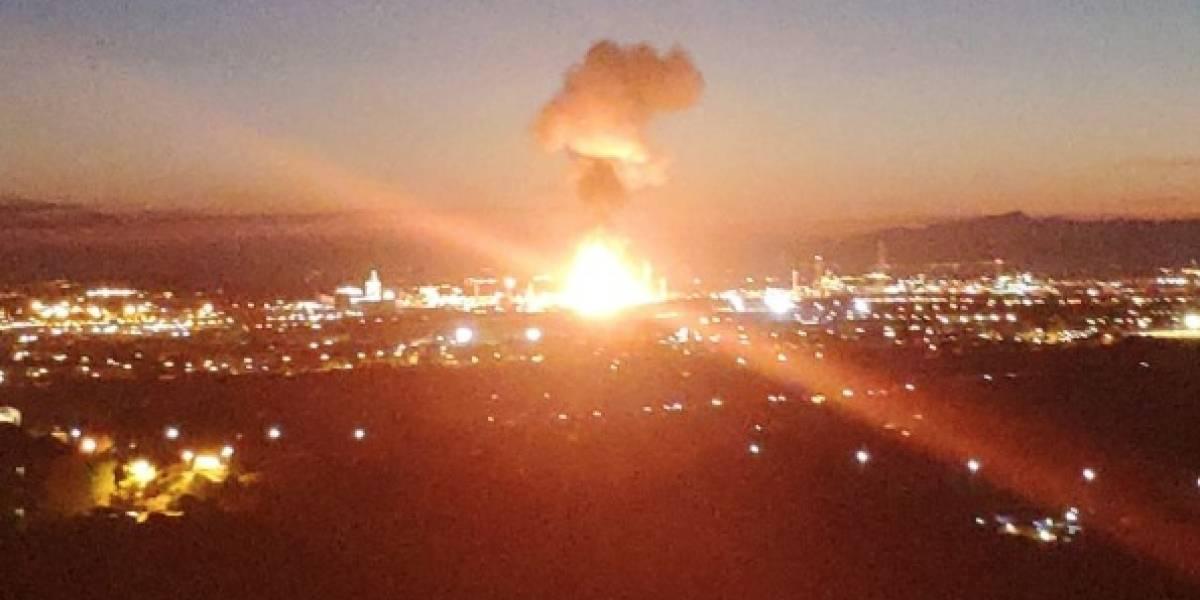 Alerta en ciudad española tras explosión en zona industrial: piden a los vecinos permanecer dentro de sus casas