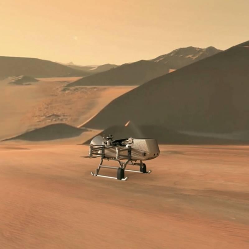 NASA planea construir casas en Marte hechas de hongos
