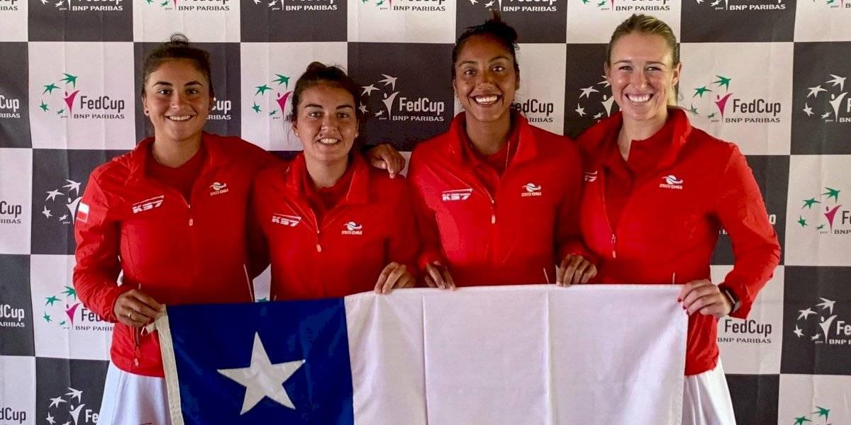 Con Seguel y Guarachi a la cabeza: Chile ya tiene nómina y ya conoce sus rivales para la Fed Cup