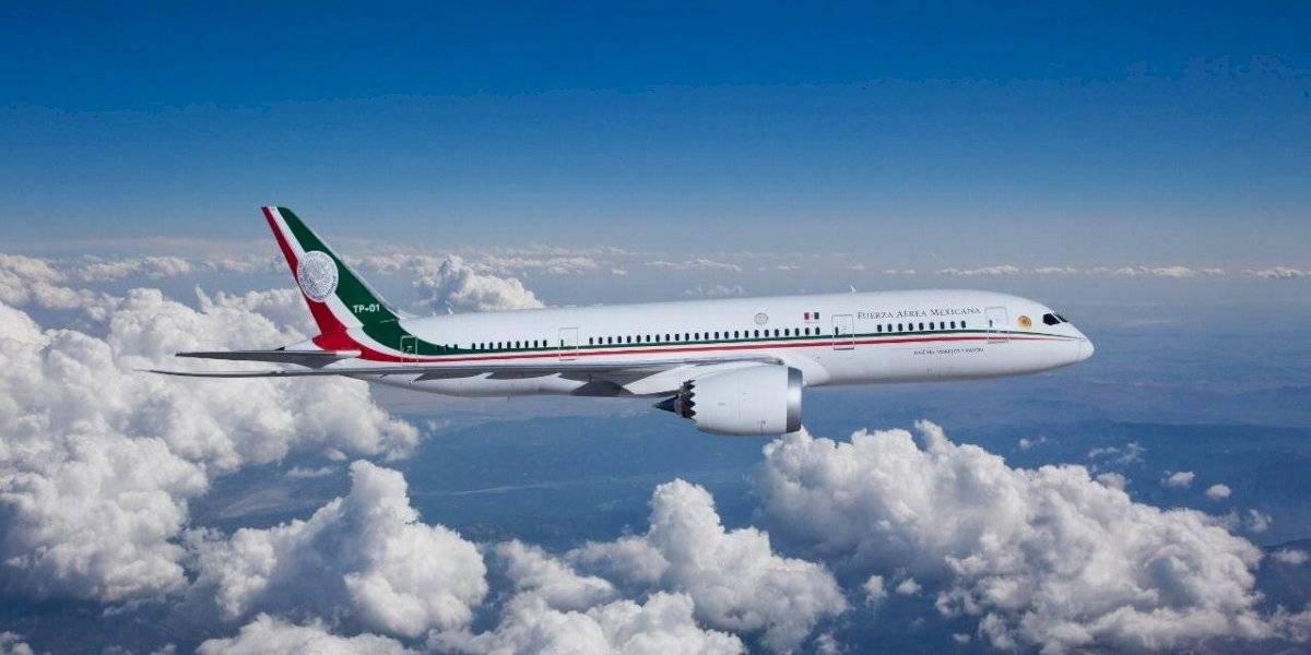 'Se va a rifar el avión presidencial': López Obrador