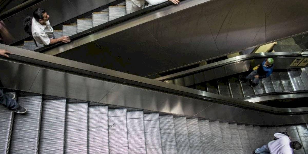 Este año cambiarán 55 escaleras eléctricas en el Metro